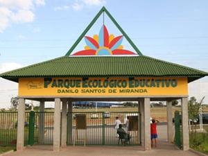 Entrada do Parque Ecológico (Foto: Divulgação / Prefeitura de Rio Preto)