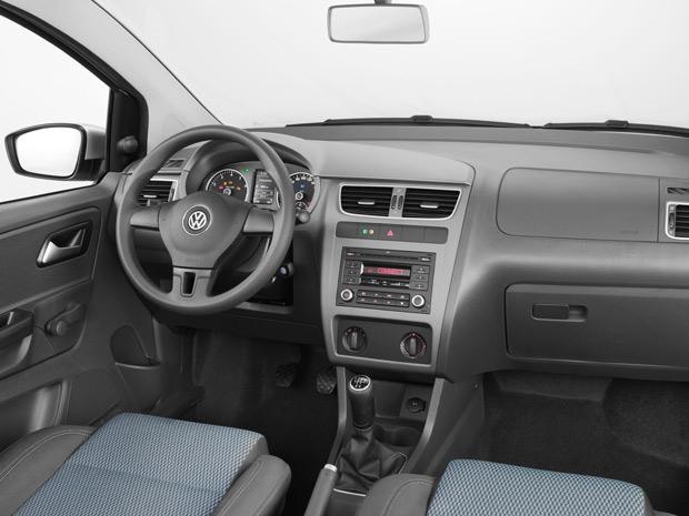 Interior do Fox EcoMotion tem acabamento interno diferenciado (Foto: Divulgação)