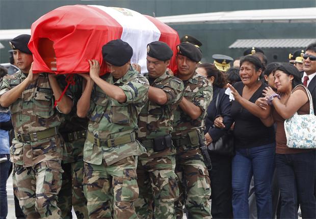 Peru; policiais; mortos; confrontos; Peru (Foto: Enrique Castro-Mendivil / REUTERS)