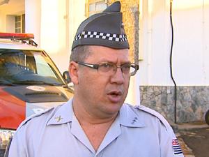 Segundo capitão, PM tem combatido roubo a carros. (Foto: Reprodução/EPTV)