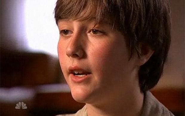Sean aparece falando em sua primeira entrevista desde o polêmico caso (Foto: Reprodução/NBC)