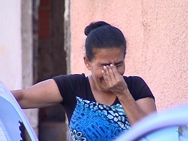 A tia da jovem disse que esteve com a sobrinha momentos antes do assassinato. (Foto: Reprodução/TV Gazeta)