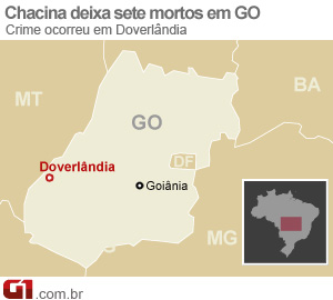 Doverlândia, Goiás (Foto: arte/G1)