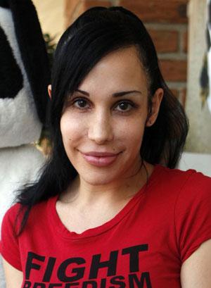 Nadya Suleman, em foto de maio de 2010 (Foto: Damian Dovarganes/AP)