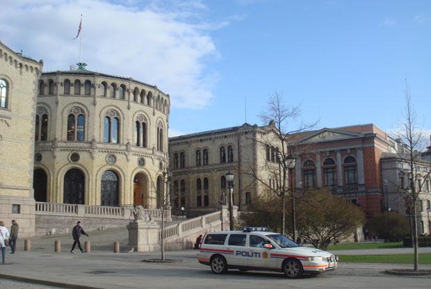 parlamento oslo (Foto: Tahiane Stochero/G1)