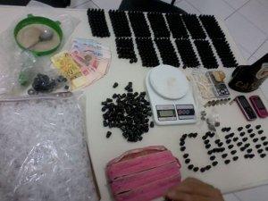 Guarda Municipal de Jundia estoura depósito de drogas