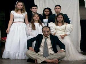 A Colcha Mórbida de Berenice (Foto: Divulgação / Grupo Teatral Tapanaraca  )