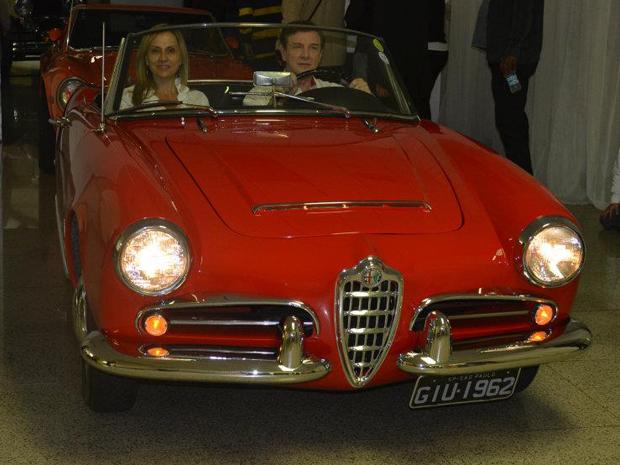 Alfa Romeo Giulietta chegou pronta dos EUA (Foto: ETC Comunicação/Divulgação)