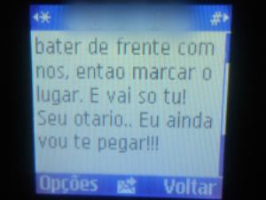 Mensagem possui tom intimidador e foi uma resposta às declarações do comandante na rádio (Foto: Roberto Lira Notícias/ Divulgação)