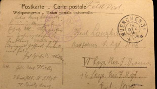 Documento inédito foi descoberto durante evento sobre história europeia em Munique (Foto: BBC)
