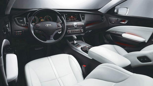 K9 traz novo padrão de acabamento aos modelos da marca Kia (Foto: Divulgação)