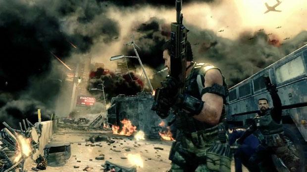 Terrosistas controlam máquinas para enfrentar o jogador em novo 'Call of Duty' (Foto: Divulgação)