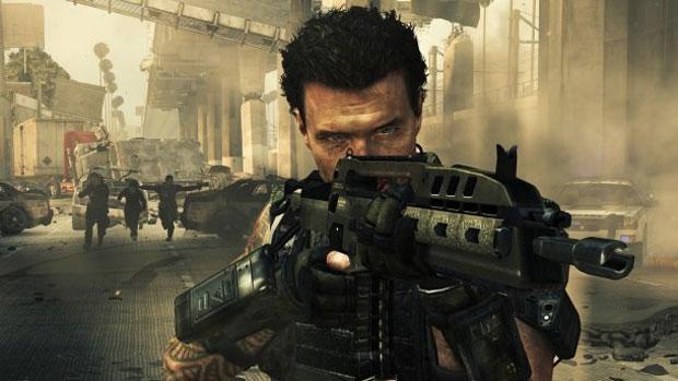 Jogador poderá usar armas futuristas nos confrontos do game (Foto: Divulgação)
