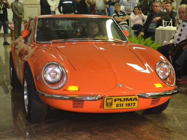 Puma GTE 1972 levou três anos para ser restaurado (Foto: ETC Comunicação/Divulgação)