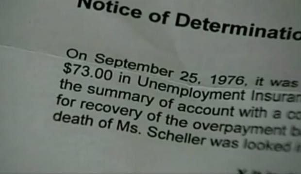 Alice Mainville teria recebido o valor a mais de seguro-desemprego em 1976. (Foto: Reprodução)