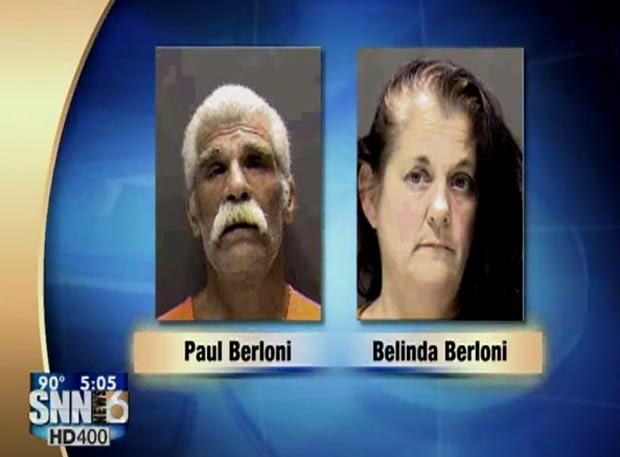 Paul e Belinda Berloni estavam alcoolizados. (Foto: Reprodução)