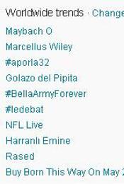 Trending Topics no Mundo, 17h22 (Foto: Reprodução)