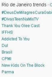 Trending Topics no Rio às 17h06 (Foto: Reprodução)