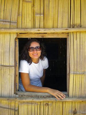 Tunísia Schuler, professora brasileira que levou a olimpíada de astronomia ao Timor Leste (Foto: Arquivo pessoal)