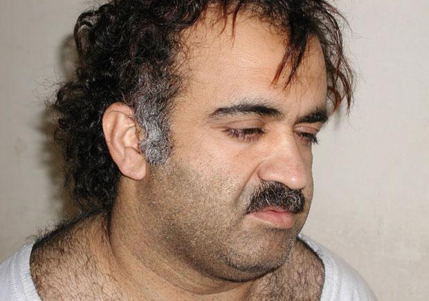 Khaled Sheikh Mohamed, em imagem de março de 2003 (Foto: Reuters/U.S. News & World Report)