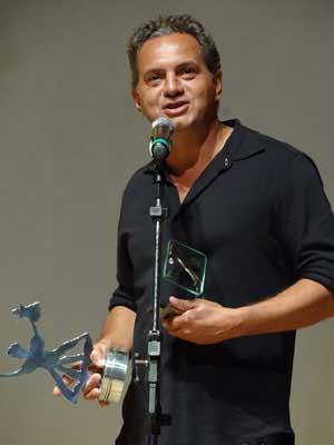 O diretor Breno Silveira, de 'À beira do caminho', valorizou o desempenho dos atores. (Foto: Luna Markman / G1)
