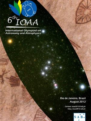 Poster oficial da Olimpíada de Astronomia e Astrofísica (Foto: Divulgação)