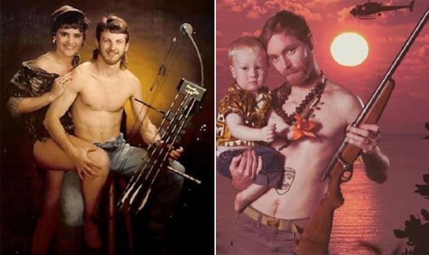 Site reúne uma série de fotos de 'poses glamorosas' que não deram certo. (Foto: Reprodução)
