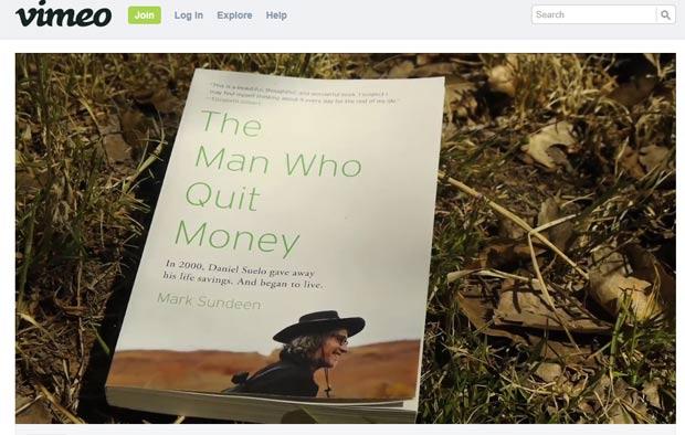 Escritor Mark Sundeen escreveu uma biografia sobre o estilo de vida de Suelo. (Foto: Reprodução)