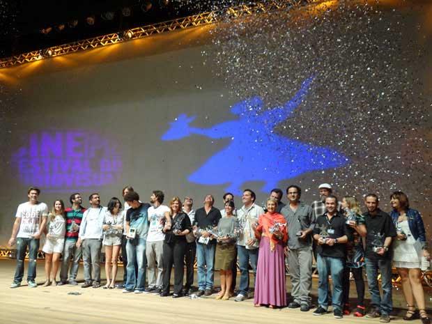 'À beira do caminho', 'Boca' e 'Paraísos artificiais' levaram, cada um, 4  troféus. (Foto: Luna Markman / G1)