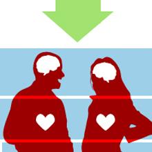 Fazer sexo 2 vezes por semana aumenta vida em até 1,5 ano (Arte/G1)