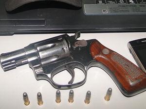 Arma foi apreendida em MT (Foto: Divulgação / PM)