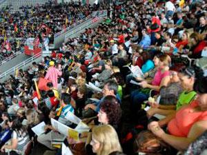 Assembleia professores (Foto: Cpers/Divulgação)