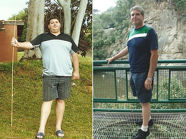 Edson antes e depois (Foto: Arquivo pessoal)