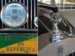 Veículo só é usado nos desfiles de 7 de Setembro e posses presidenciais; toda semana, funcionário circula na garagem do Planalto. (Foto: Priscilla Mendes/G1)