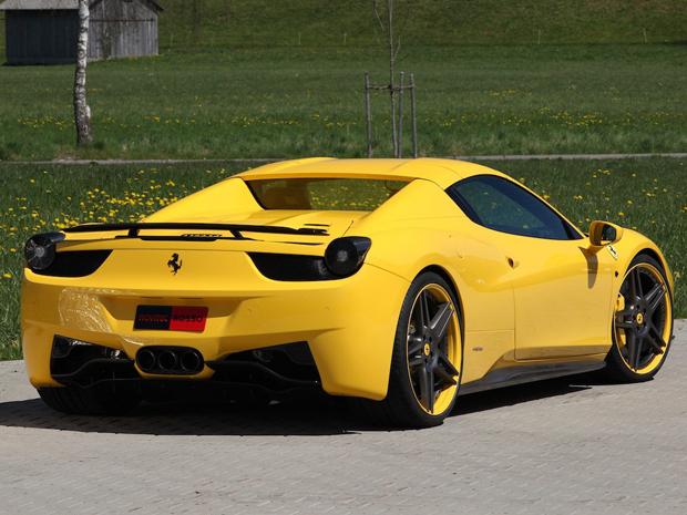 Ferrari 458 Italia Spider Novitec Rosso (Foto: Divulgação)