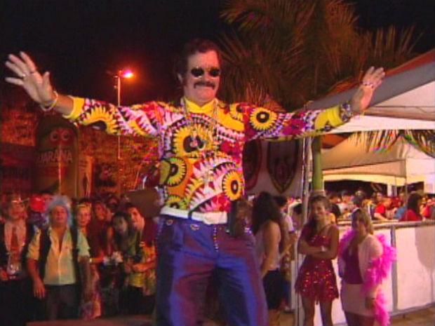 Festa do cafona é realizada uma vez por ano em Colatina (Foto: Reprodução/TV Gazeta)