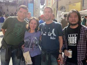 Fãs aprovam show dos Titãs (Foto: Márcio Pinho/G1)