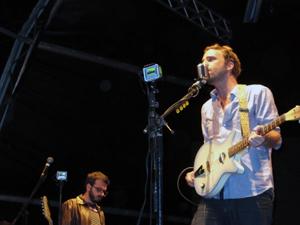 Marcelo Camelo em show da banda Los Hermanos em Brasília (Foto: G1)