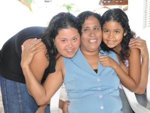 Ser mãe foi sinônimo de superação para deficiente visual (Foto: Helder Rafael/G1 MS)