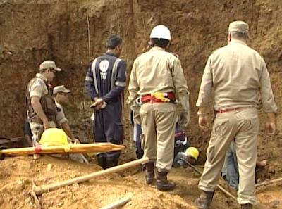 Deslizamento de terra em Itabuna bahia (Foto: Imagem TV Santa Cruz)