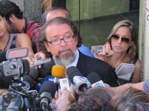 Antônio Carlos Castro, o Kakay, advogado da atriz Calinha Dieckmann (Foto: Janaína Carvalho/G1)