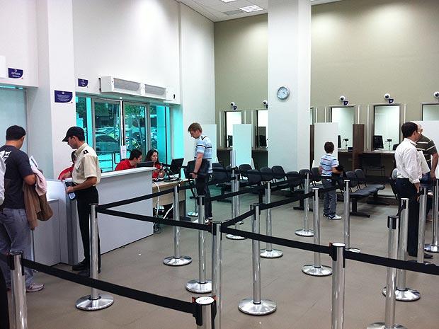 Novo posto de visto para os EUA fica na Zona Sul do Rio (Foto: Rodrigo Vianna / G1)
