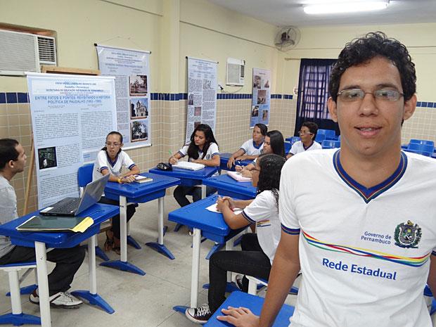 Ensino Médio Inovador - Pernambuco - Isak de Castro (Foto: Luna Markman / G1)