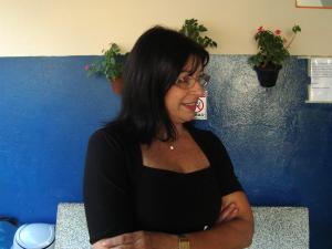 Silvia (Foto: Eduardo Ribeiro Jr./G1)