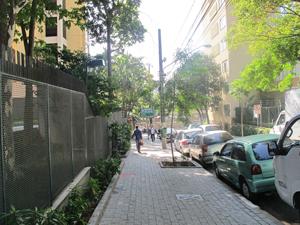 Rua Bela Cintra, onde haverá desocupações (Foto: Juliana Cardilli/G1)