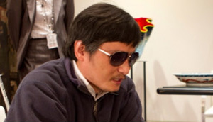 O dissidente cego Chen Guangcheng (Foto: BBC)
