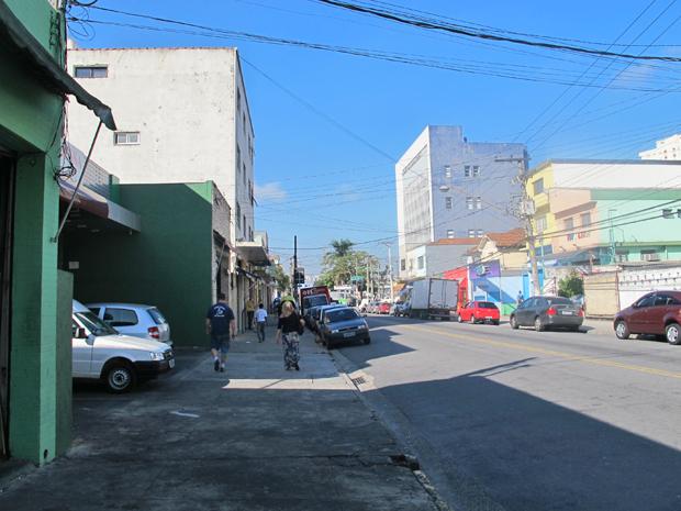 Rua bonifácio Cubsa, na Freguesia do Ó, terá desapropriações (Foto: Juliana Cardilli/G1)