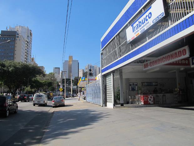Estação Perdizes ficará na Avenida Sumaré (Foto: Juliana Cardilli/G1)