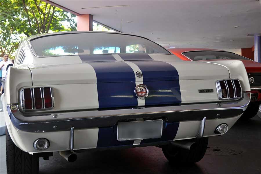 Mustang em exposição em Campinas (Foto:Luciano Calafiori/G1 Campinas)
