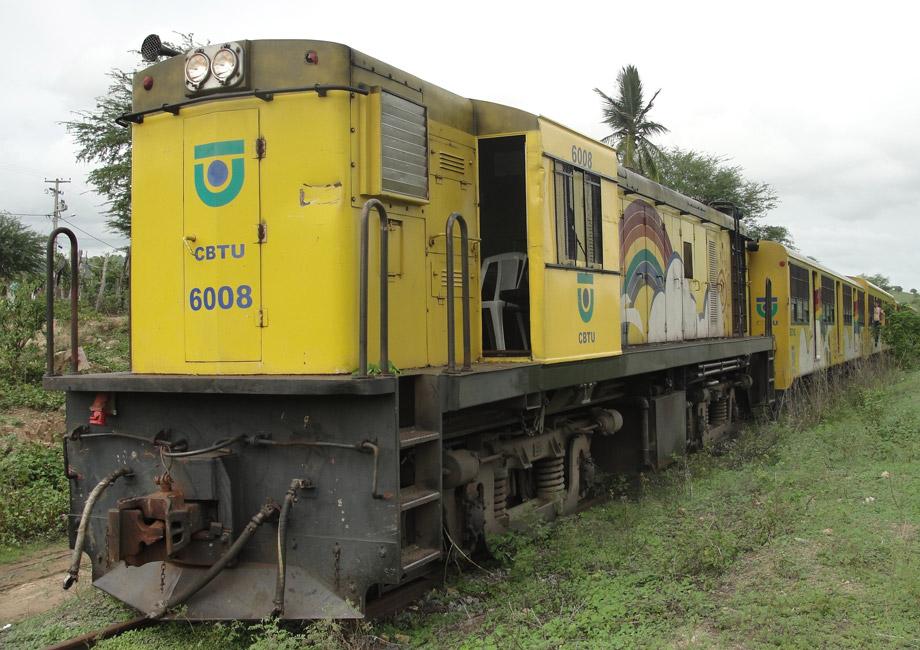 Locomotiva será enfeitada para ser usada como trem do forró em Campina Grande
